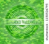 extended warranty realistic... | Shutterstock .eps vector #1150526795