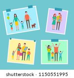 family happy people pictures... | Shutterstock .eps vector #1150551995