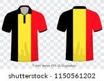 t shirt polo flag belgium ...   Shutterstock .eps vector #1150561202