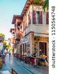 kas antalya turke july 2018 ... | Shutterstock . vector #1150564748