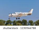 international airport pardubice ... | Shutterstock . vector #1150566788