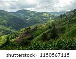 landscape  view on the top of a ... | Shutterstock . vector #1150567115