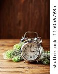 concept of winter time change...   Shutterstock . vector #1150567985