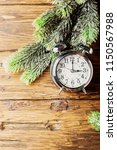 concept of winter time change...   Shutterstock . vector #1150567988