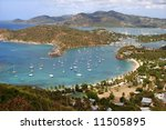 falmouth bay and english harbor | Shutterstock . vector #11505895