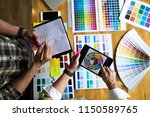 graphic designers use the... | Shutterstock . vector #1150589765