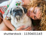 true love between beautiful... | Shutterstock . vector #1150601165