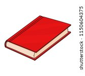 red book. doodle style... | Shutterstock .eps vector #1150604375