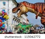 viareggio  italy   march 4... | Shutterstock . vector #115062772