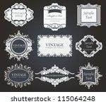Stock vector vintage label 115064248