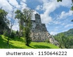 bran castle  also known as the... | Shutterstock . vector #1150646222
