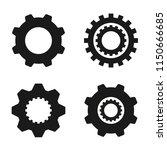 set of  vector image machine... | Shutterstock .eps vector #1150666685