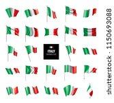 italy flag  vector illustration | Shutterstock .eps vector #1150693088