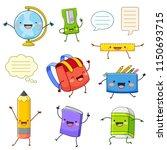 set of cartoon characters of... | Shutterstock . vector #1150693715