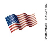 usa flag isolated | Shutterstock .eps vector #1150694402