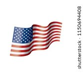 usa flag isolated | Shutterstock .eps vector #1150694408