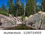 mokelumne creek canyon along... | Shutterstock . vector #1150714505
