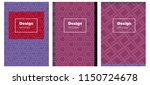 light pink  red vector brochure ...