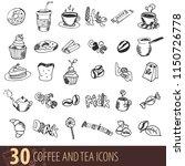 coffee  coffee house  coffee... | Shutterstock .eps vector #1150726778
