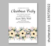christmas party invitation... | Shutterstock .eps vector #1150735022