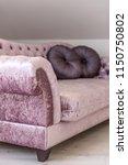 living room interior details ... | Shutterstock . vector #1150750802