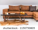 interior of a living room in... | Shutterstock . vector #1150750805