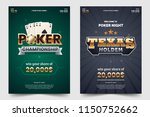 casino poker tournament a4... | Shutterstock .eps vector #1150752662