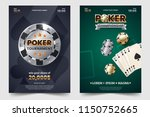casino poker tournament... | Shutterstock .eps vector #1150752665