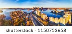 wide aerial panorama of sydney... | Shutterstock . vector #1150753658