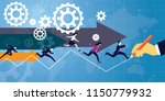 vector illustration. business... | Shutterstock .eps vector #1150779932