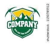 mining company logo | Shutterstock .eps vector #1150785512