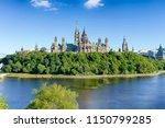 ottawa parliament hill | Shutterstock . vector #1150799285