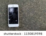 Smartphone Mobile Fall On The...