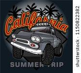 explorer car driver vector car... | Shutterstock .eps vector #1150822382