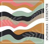 scarf pattern with color... | Shutterstock .eps vector #1150829708