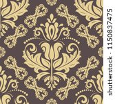 orient vector classic pattern....   Shutterstock .eps vector #1150837475