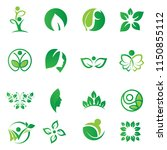 green nature business and... | Shutterstock .eps vector #1150855112