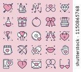 love line icons concept set.... | Shutterstock .eps vector #1150865768