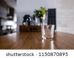 empty espresso coffee cup on... | Shutterstock . vector #1150870895