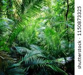lush palm grove in the ancient... | Shutterstock . vector #1150873325