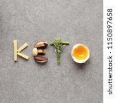 keto  ketogenic diet  low carb  ... | Shutterstock . vector #1150897658