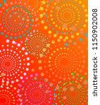 abstract summer fun brochure  ... | Shutterstock .eps vector #1150902008
