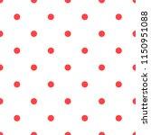 polka dot seamless vector...   Shutterstock .eps vector #1150951088