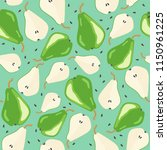 vector seamless pattern with... | Shutterstock .eps vector #1150961225