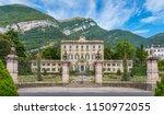 villa sola cabiati in tremezzo  ... | Shutterstock . vector #1150972055