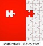 background a lot of piece... | Shutterstock .eps vector #1150975925
