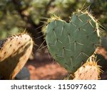 Cactus Leaf In The Shape Of A...