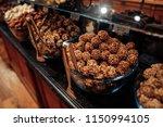 belgium traditional chocolate...   Shutterstock . vector #1150994105