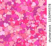 valentines day background.... | Shutterstock .eps vector #1150995578