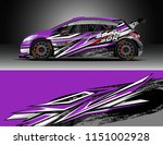 car wrap design vector  truck... | Shutterstock .eps vector #1151002928